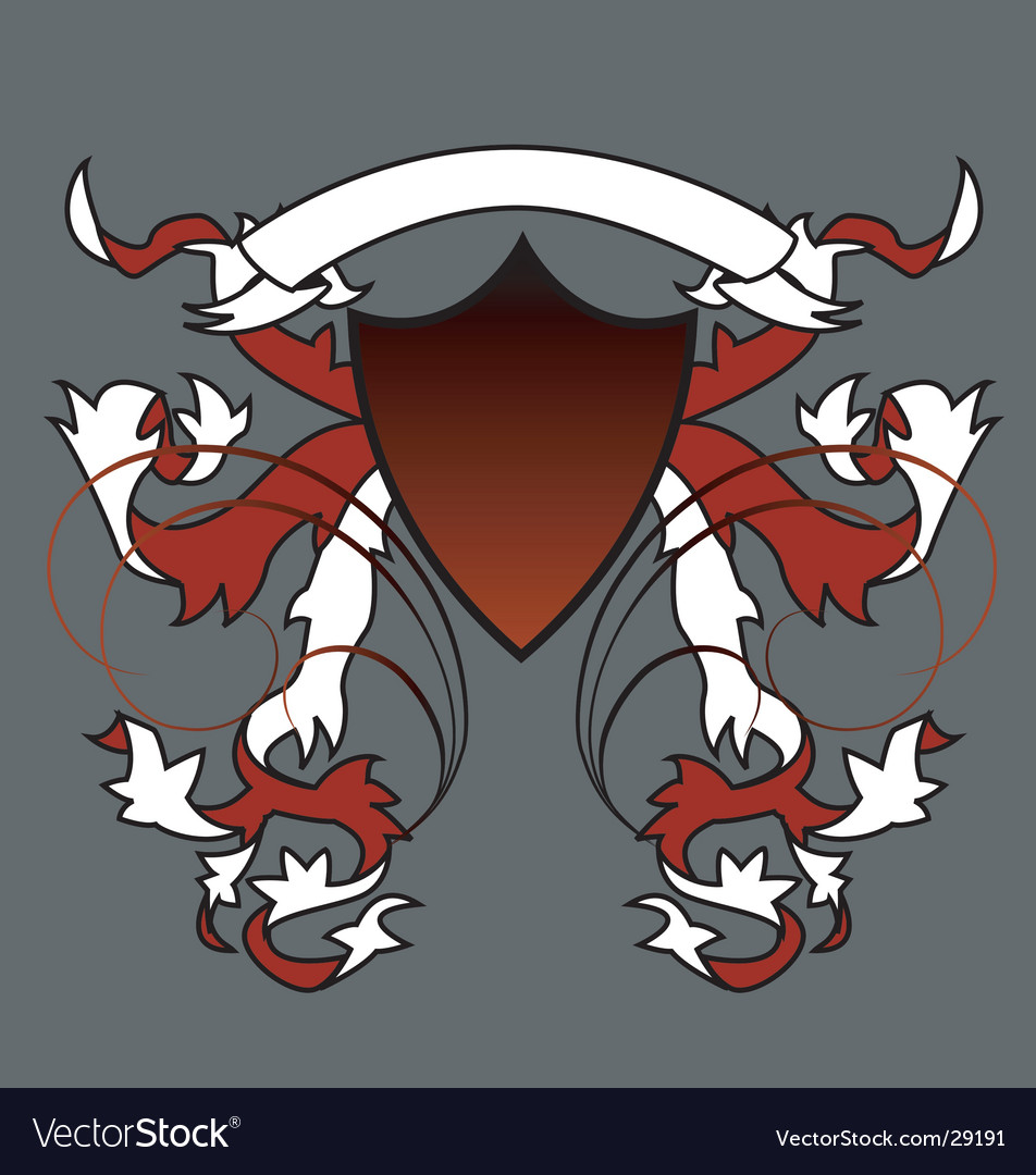 English crest vector | Price: 1 Credit (USD $1)