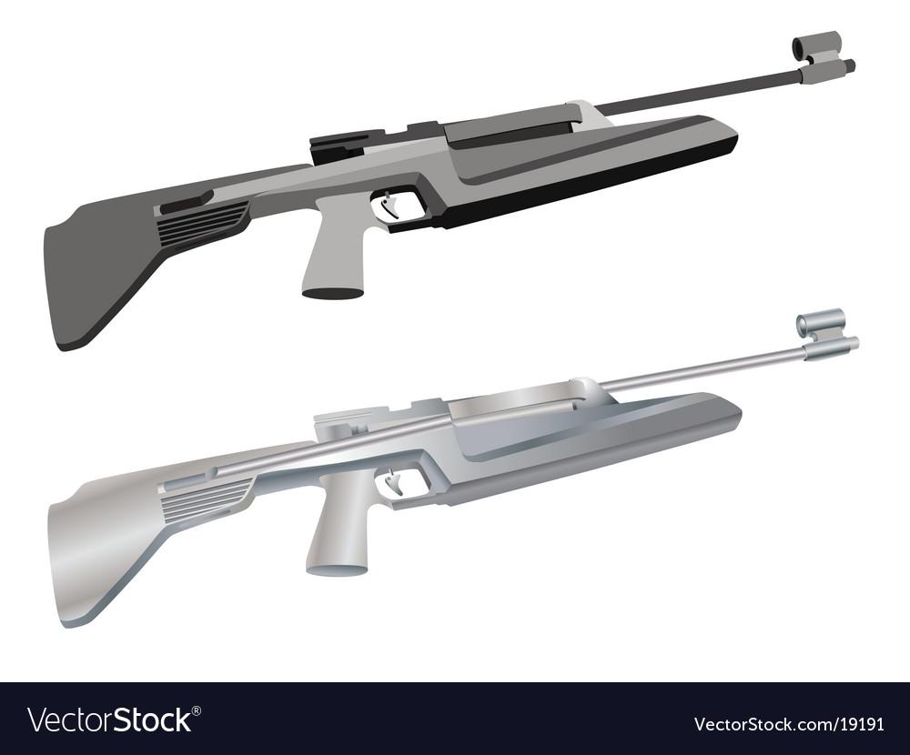 Rifle vector | Price: 1 Credit (USD $1)