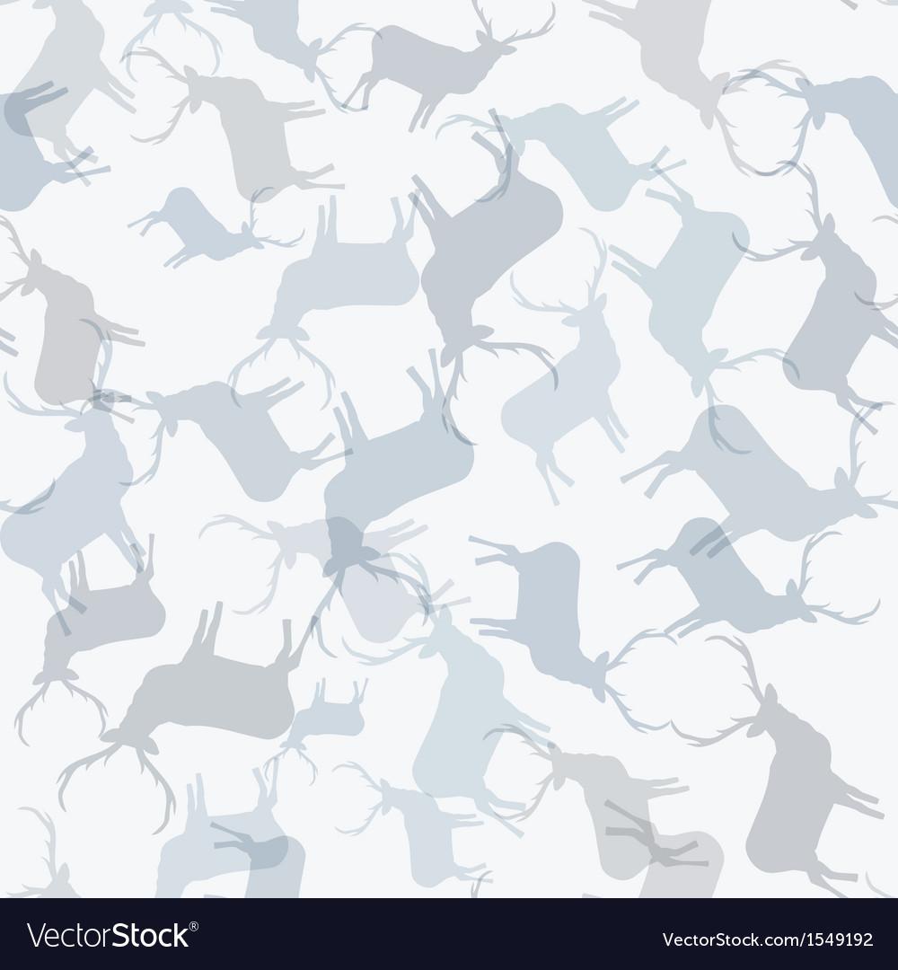 Christmas reindeer seamless pattern  eps10 vector | Price: 1 Credit (USD $1)