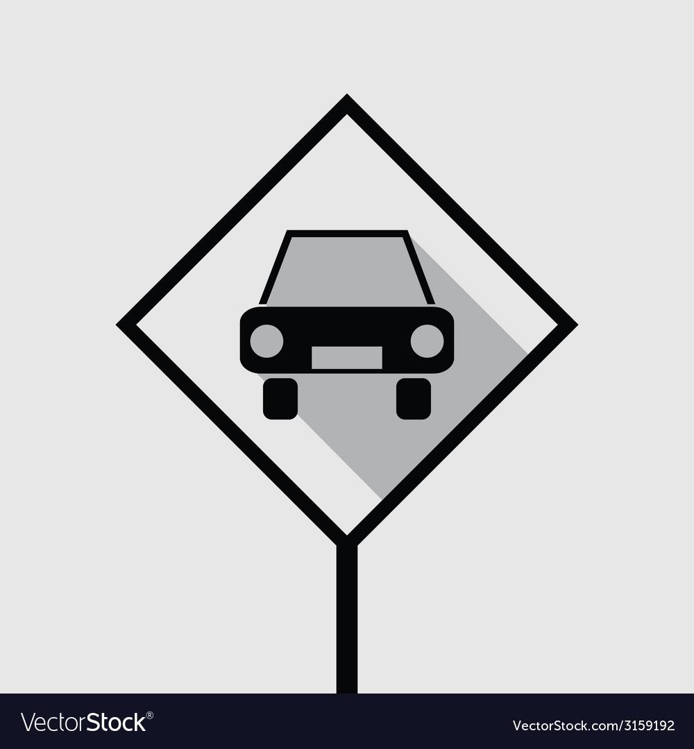 Passenger car icon vector | Price: 1 Credit (USD $1)