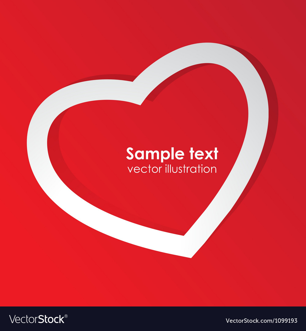 Love template vector | Price: 1 Credit (USD $1)