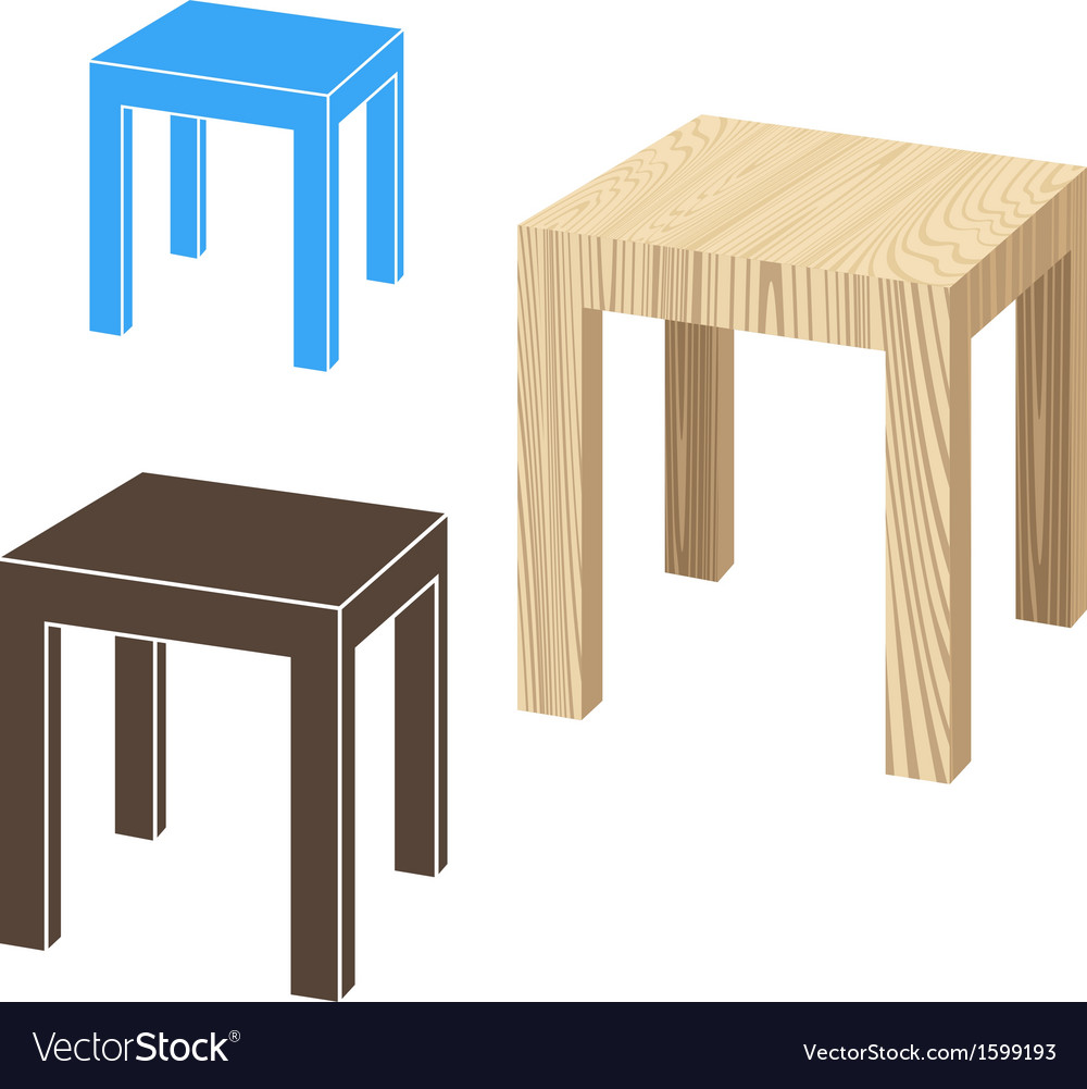 Stool vector | Price: 1 Credit (USD $1)