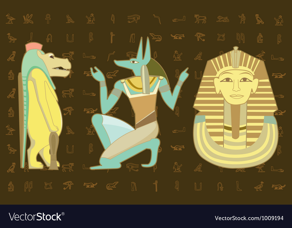 Egypt character design vector | Price: 3 Credit (USD $3)