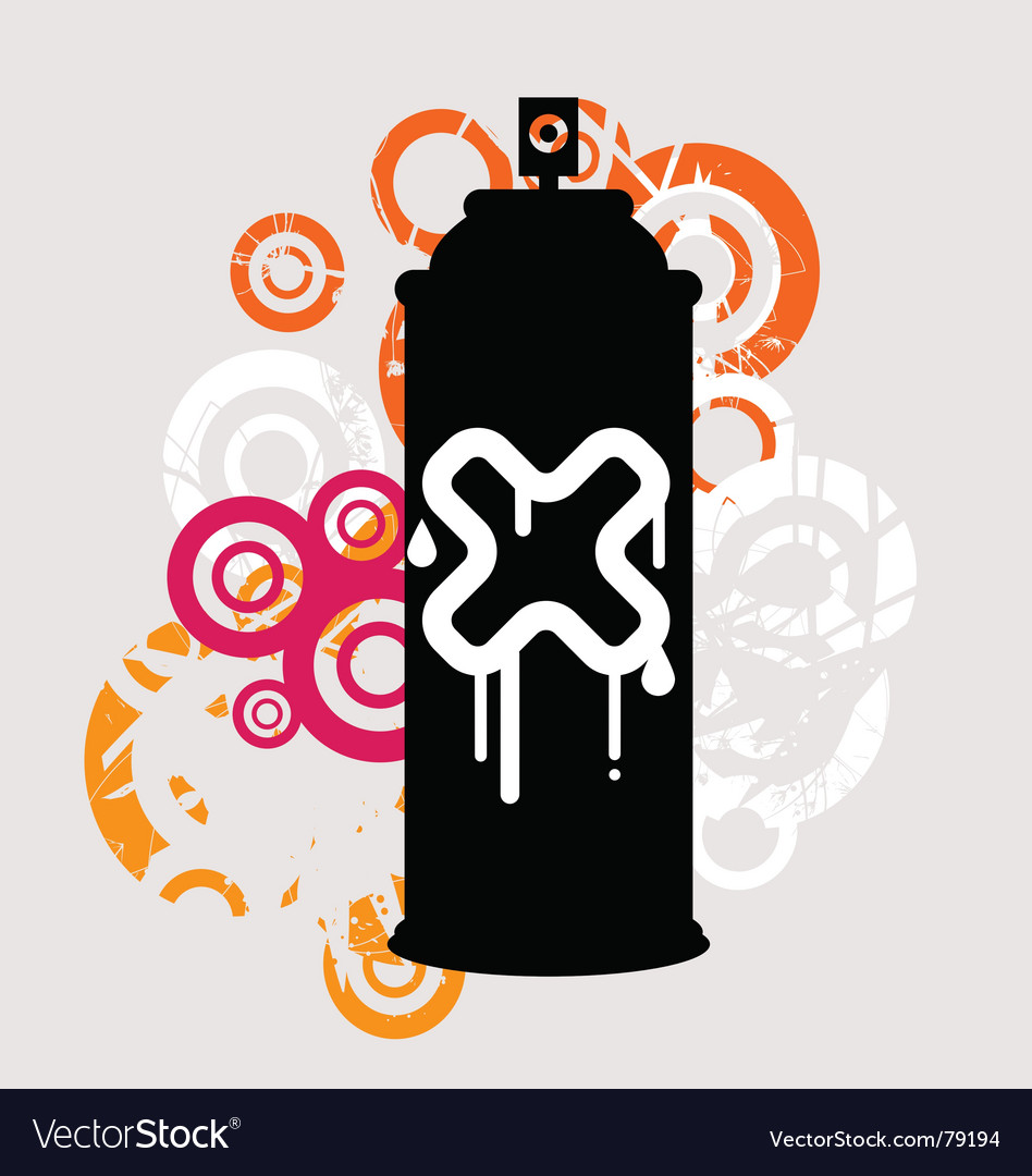 Spray can vector | Price: 1 Credit (USD $1)