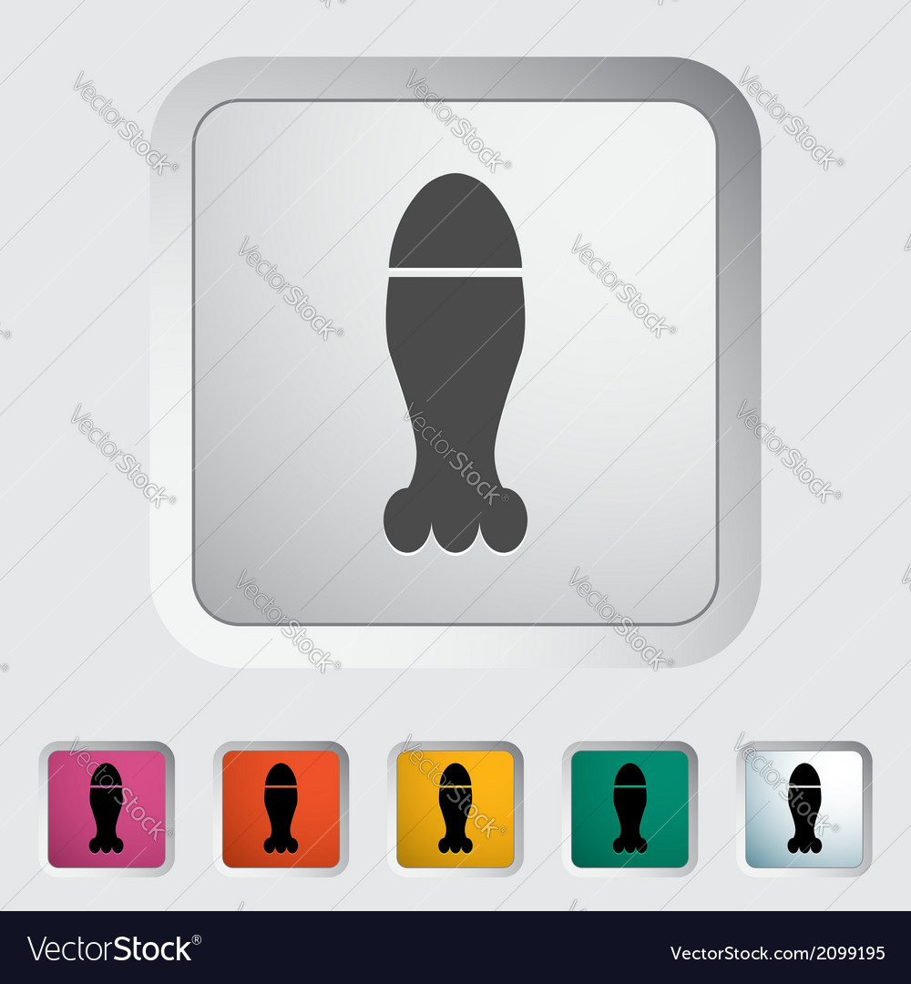 Bomb icon vector | Price: 1 Credit (USD $1)