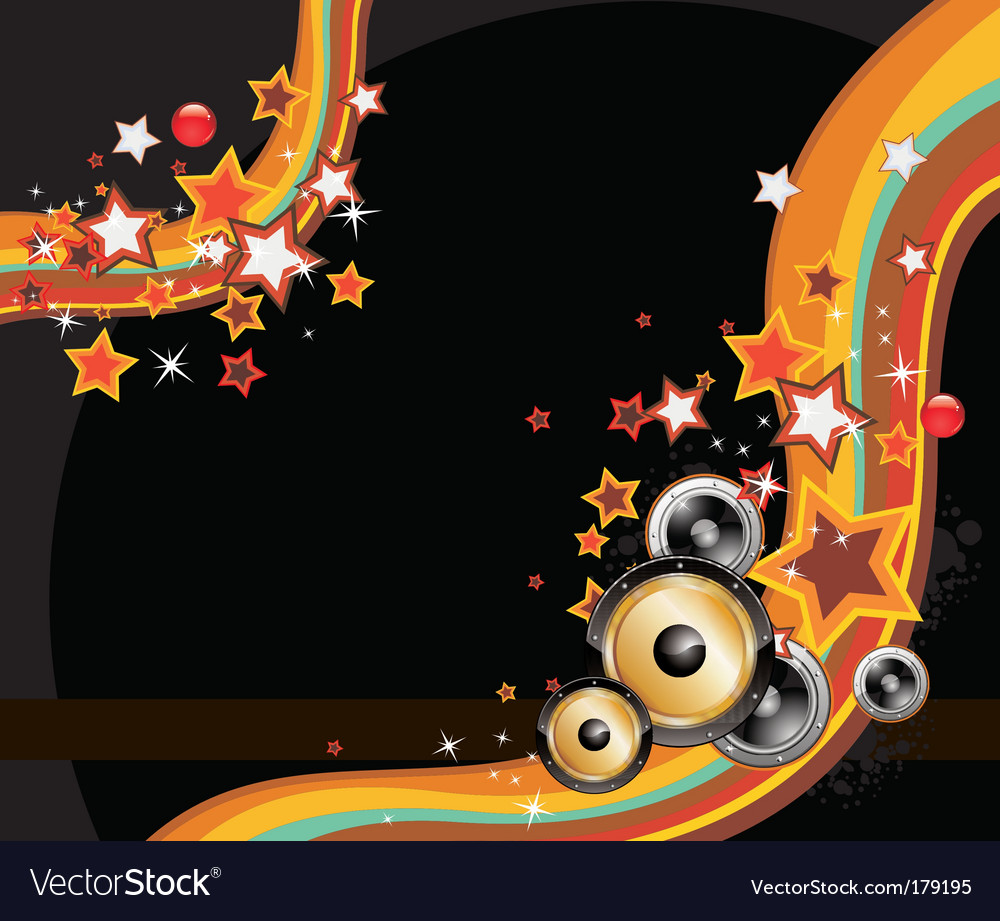 Disco background vector | Price: 3 Credit (USD $3)