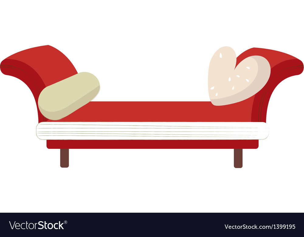 Icon couch vector | Price: 1 Credit (USD $1)