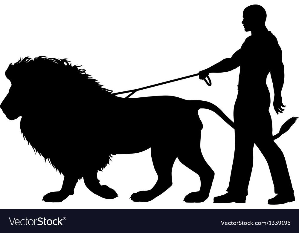Lion walker vector | Price: 1 Credit (USD $1)