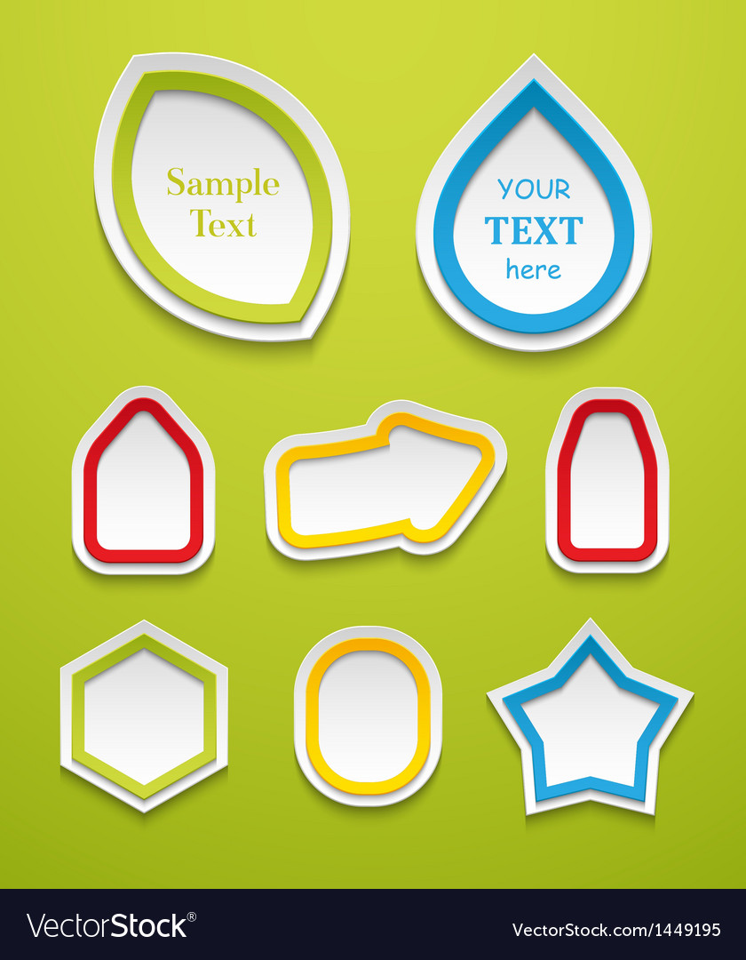Set of creative icons vector | Price: 1 Credit (USD $1)