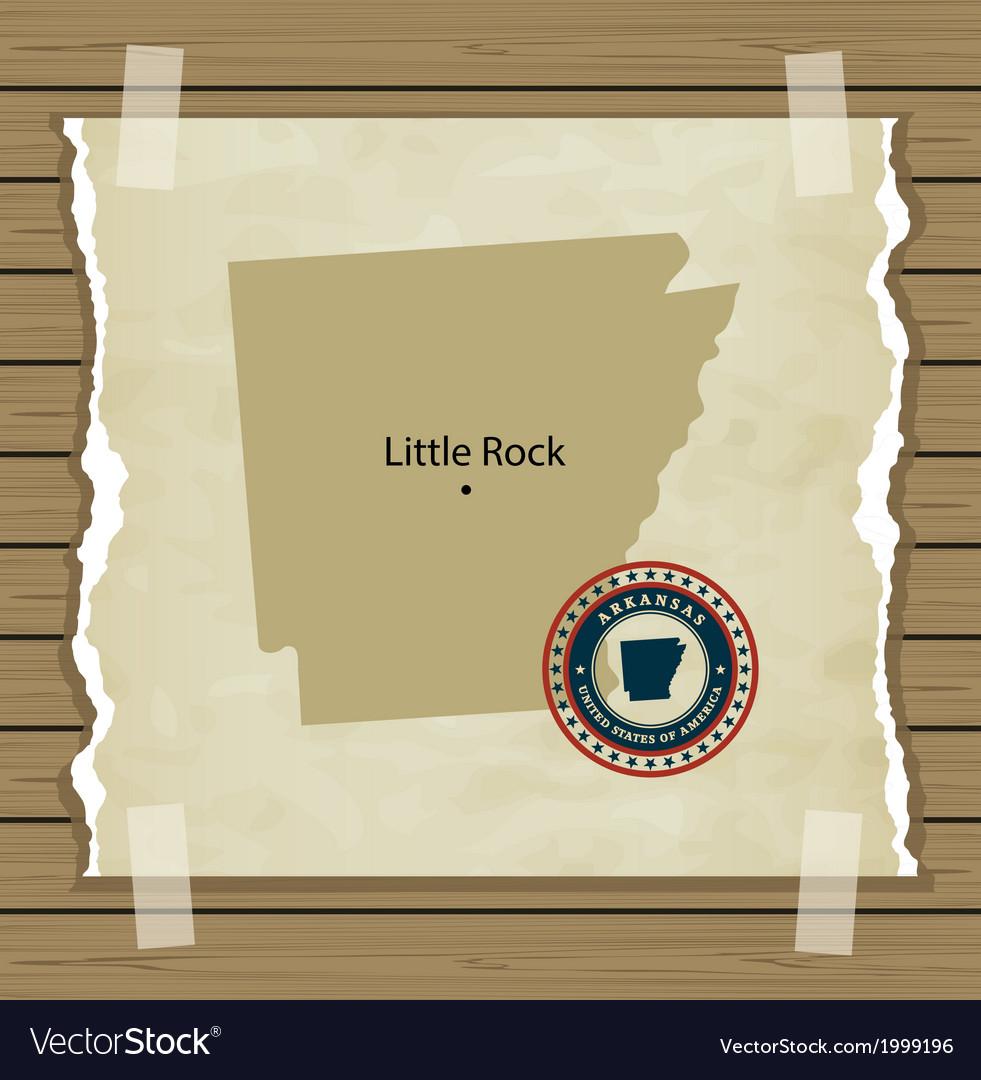 Arkansas vector | Price: 1 Credit (USD $1)
