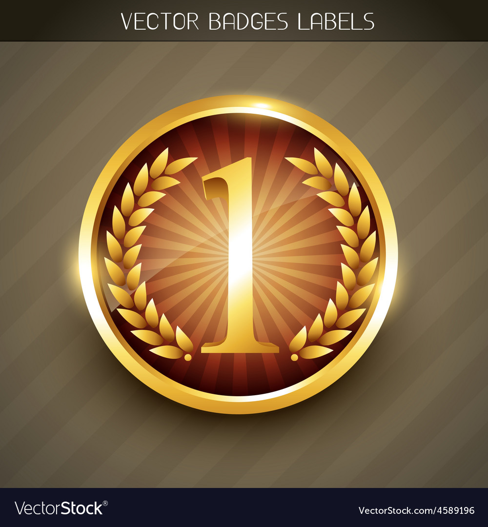 Golden label tag vector | Price: 1 Credit (USD $1)
