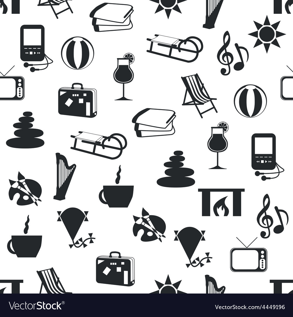Seamless relax pattern vector | Price: 1 Credit (USD $1)