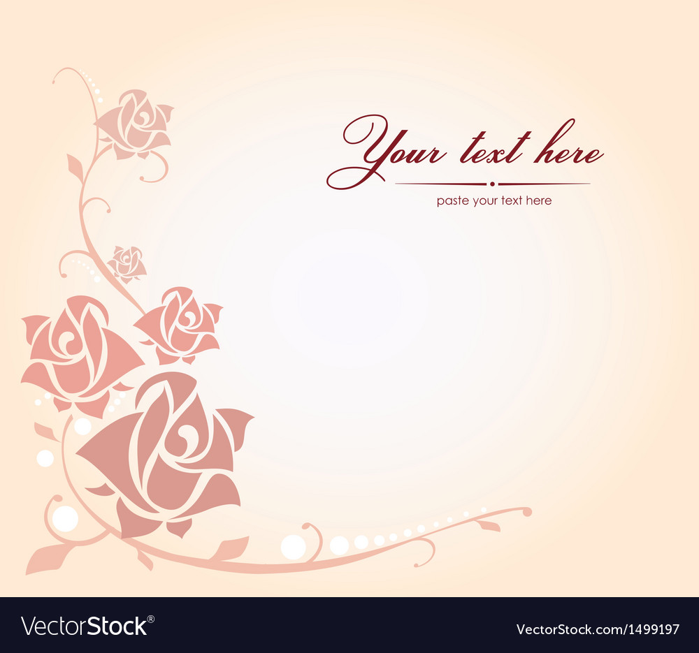 Decorative rose vector | Price: 1 Credit (USD $1)