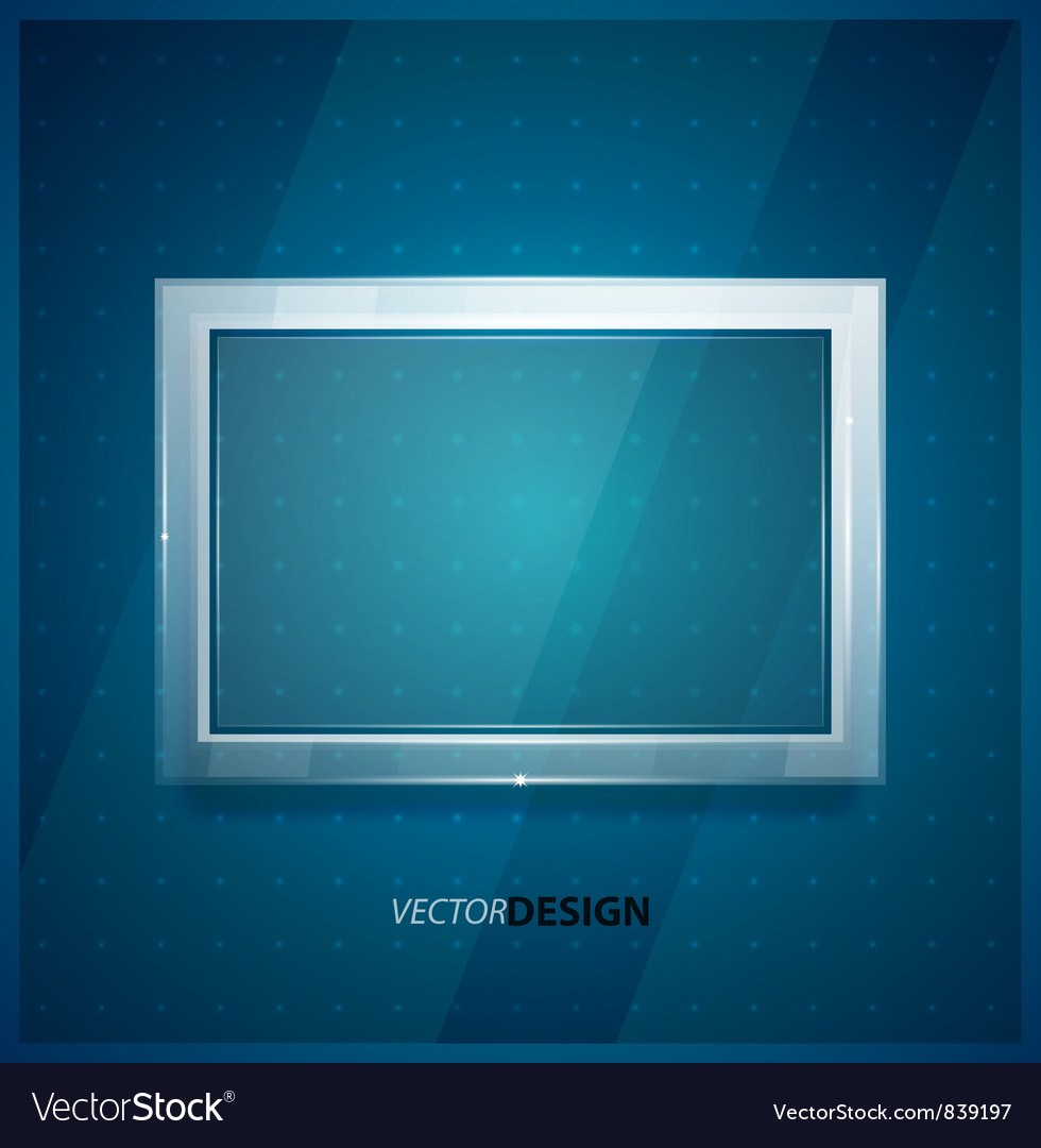 Glass screen background vector | Price: 1 Credit (USD $1)