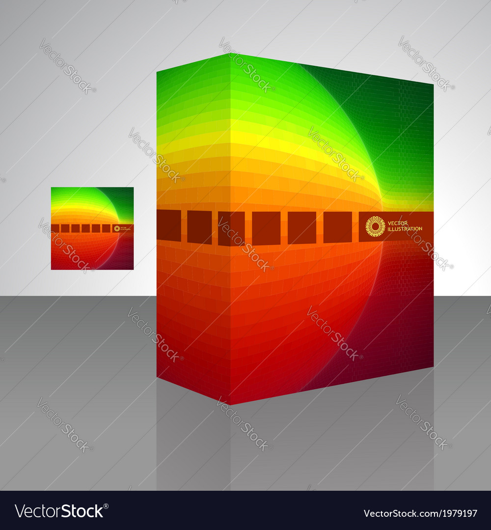 Packaging box vector | Price: 1 Credit (USD $1)