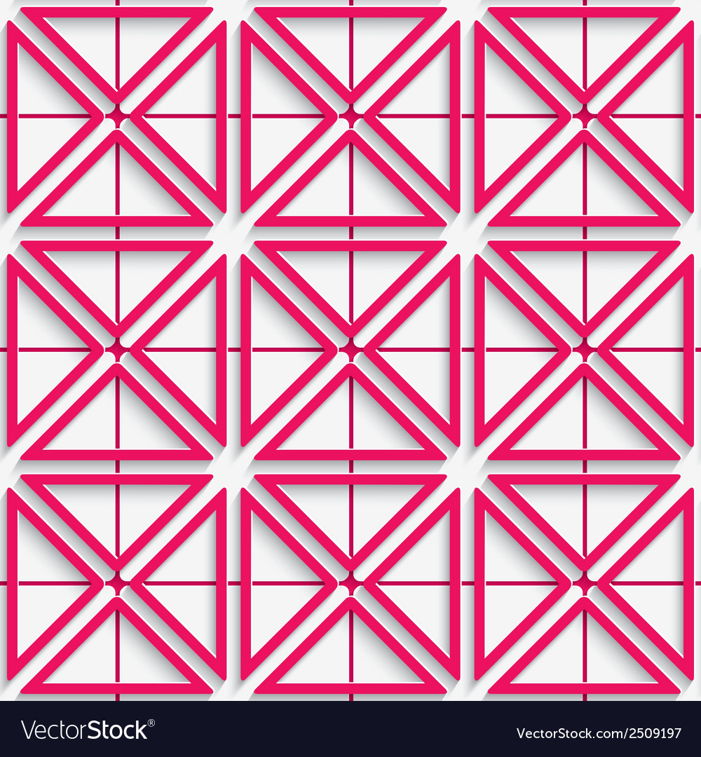 Seamless abstract background of pink 3d net with vector | Price: 1 Credit (USD $1)