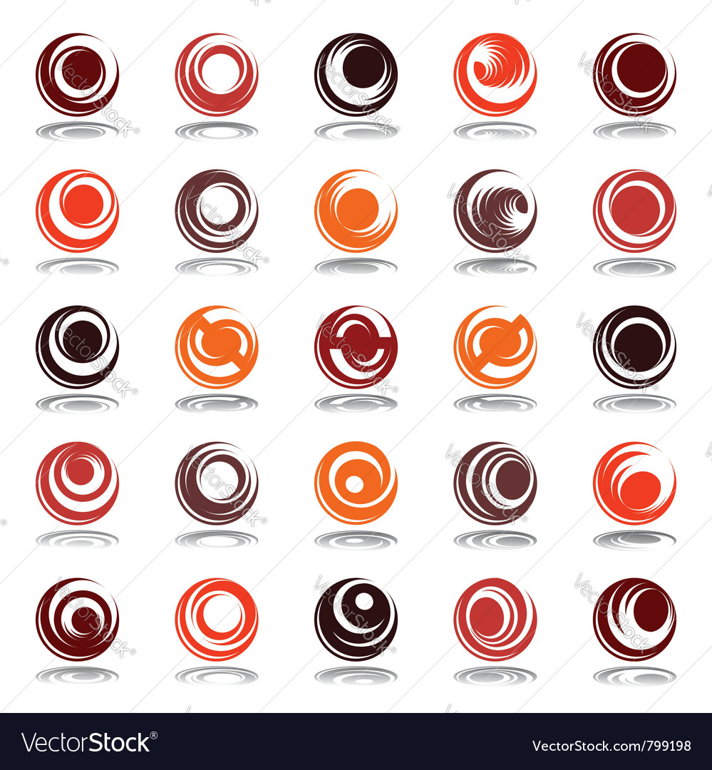 Circle shapes vector | Price: 1 Credit (USD $1)