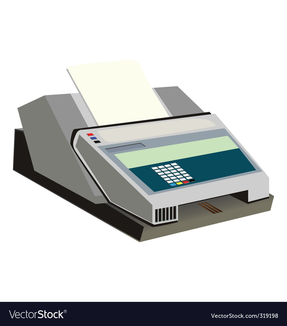 Fax vector | Price: 1 Credit (USD $1)
