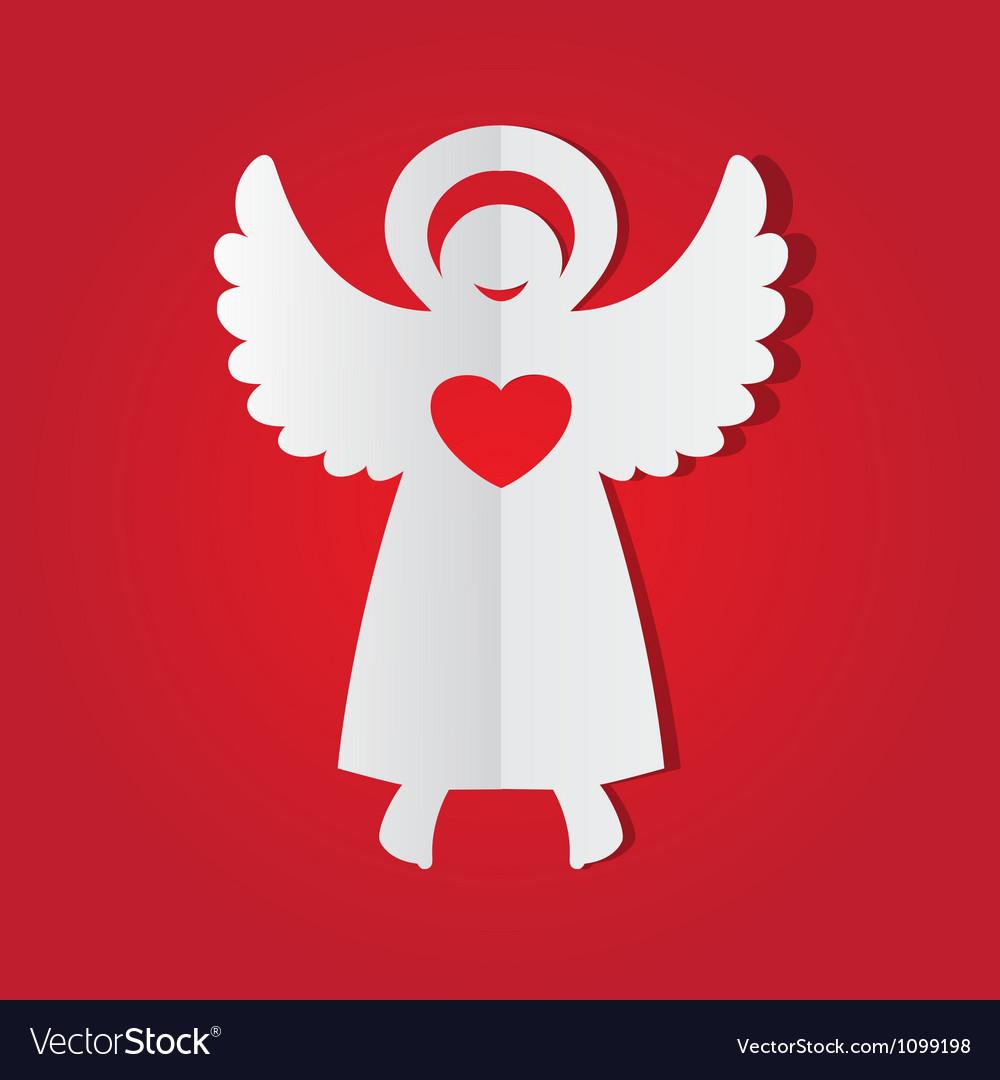 Paper angel vector | Price: 1 Credit (USD $1)