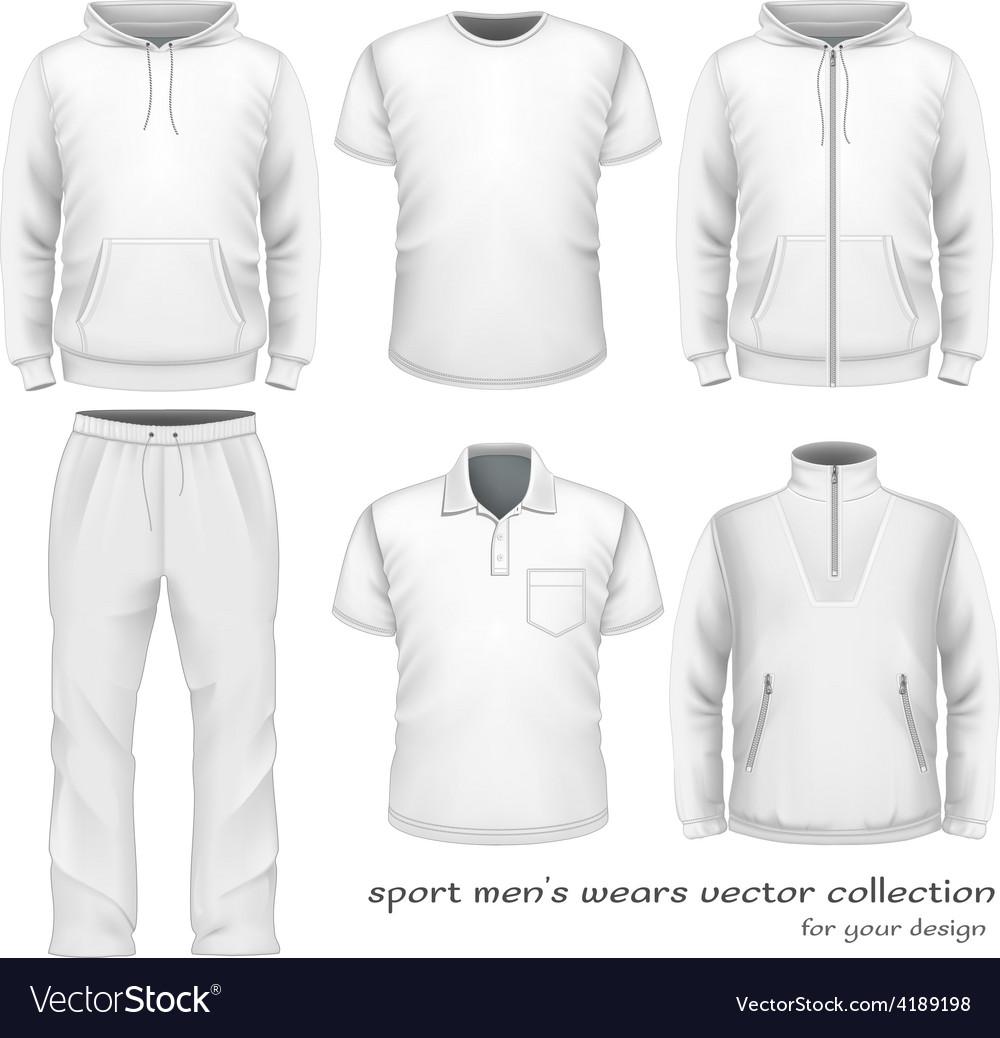 Sport men wear collection vector | Price: 1 Credit (USD $1)