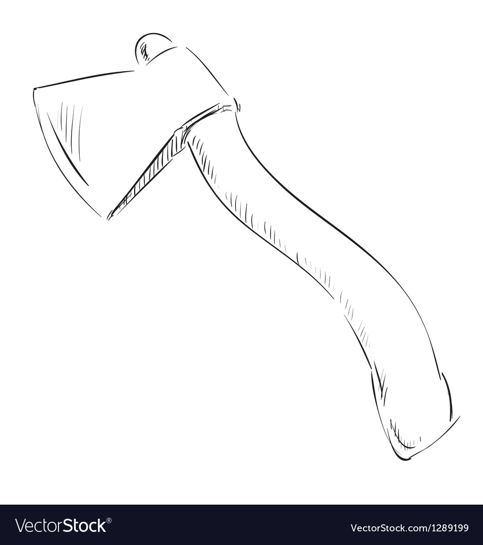 Ax hatchet icon vector | Price: 1 Credit (USD $1)