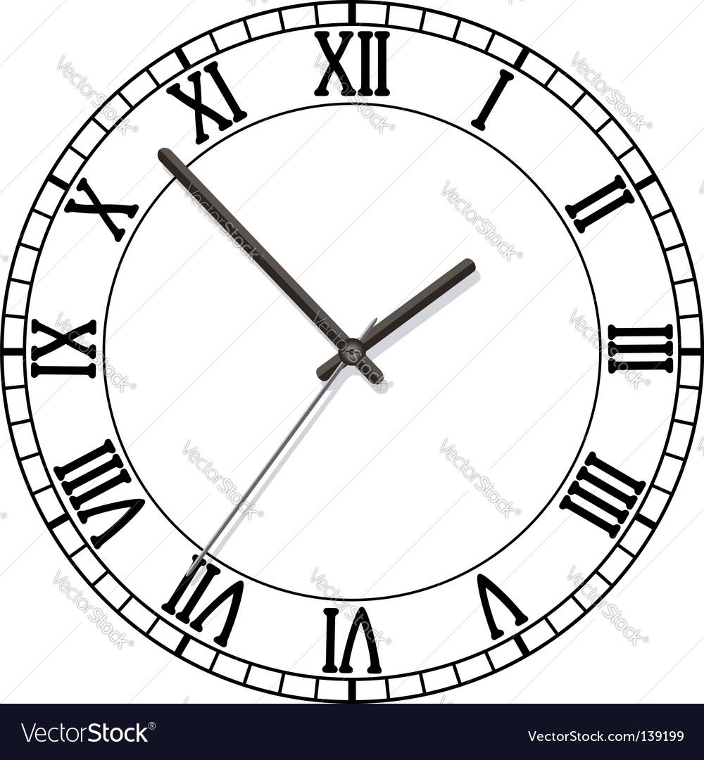 Old clock vector | Price: 1 Credit (USD $1)