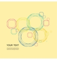 Color line circle design eps vector