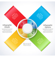 Design banner ribbons and 3d dial vector