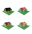 Isometric house style 6 vector
