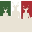 Silhouettes of hipsters vector
