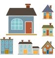 Family houses vector
