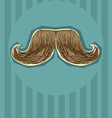 Mustaches background for design vector