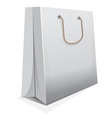 Blank shopping bag vector