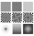 Nine very needed pattern vector