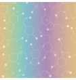 Seamless pattern with dopamine and serotonin vector