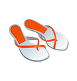 Icon shoes vector