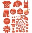 Shop stickers vector