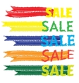 Sale tags banners set shopping vector