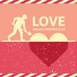 Love under construction vector