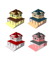 Isometric house style 9 vector