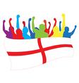 England fans vector