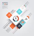 Minimal infographics 3 vector
