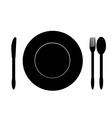Food symbol vector
