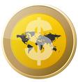 Money coin vector