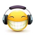 Musical emoticon vector