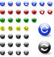 Web color icons vector