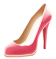Shoes woman vector