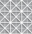 Seamless white geometrical background vector