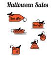 Haloween sales vector