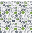 Green sticker mobile apps vector